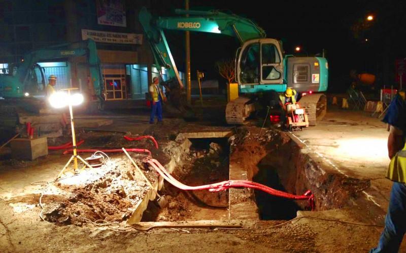Aménagement de la 2x2 voies entre carrefour Bernière et mairie Pirae (conception / rédaction DCE)