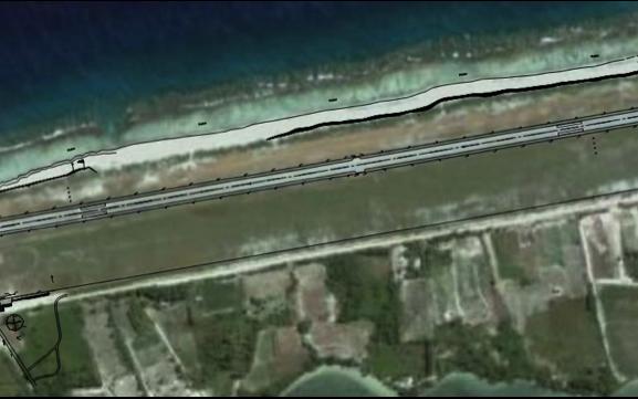 Mise aux normes et réfection de l'aérodromee de Huahine