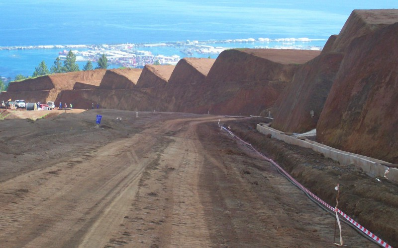 Pamatai Hills - Réseaux AEP-EU-OPT-EDT-EPU